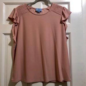 XL Cece Pink Dress Top